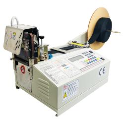 Hot Cut Satin Fabric Ribbon Cutting Machine WPM-890S